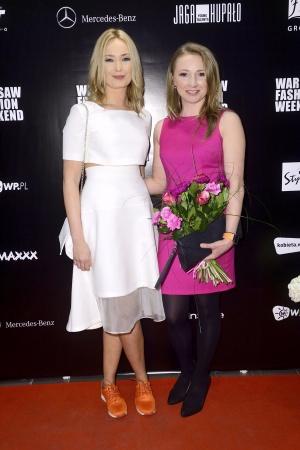 Marta Dąbrowska i Justyna Żmijewska